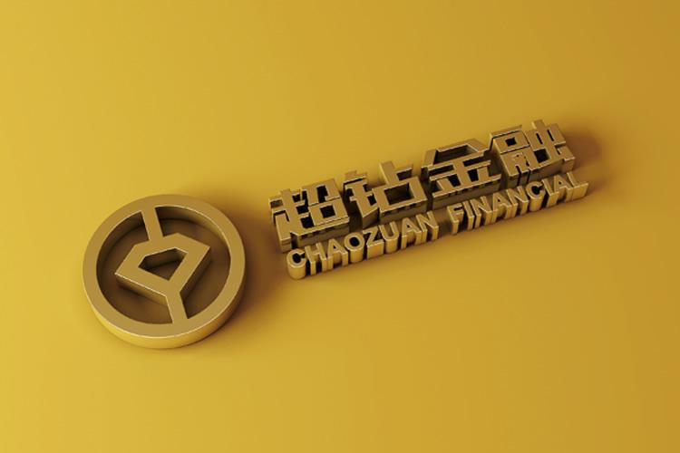超钻金融标志设计,超钻金融VI设计