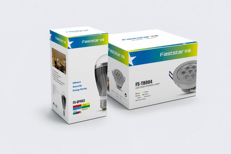 快星LED品牌形象重塑,快星LEDVI设计