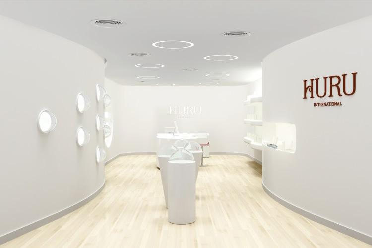 HURU标志设计,HURU VI设计,HURU展厅设计