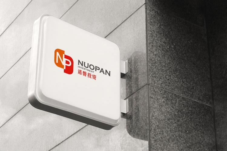 诺磐投资标志设计