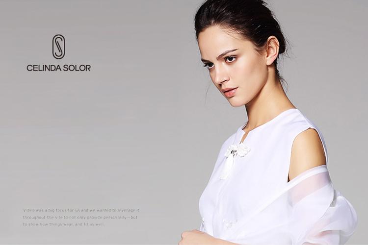 Celinda Solor服装标志设计,LOGO设计,品牌形象设计