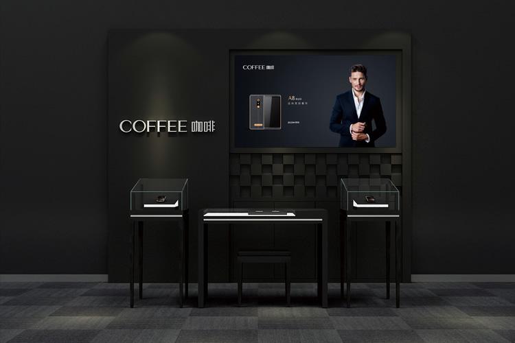 咖啡手机标志设计,VI设计,LOGO设计,店面设计