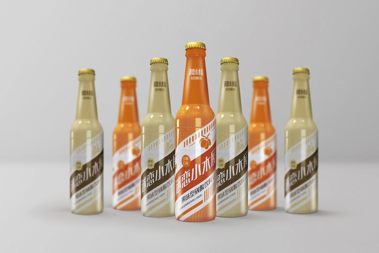 迷恋小木屋品牌包装设计,品牌形象设计,瓶贴设计