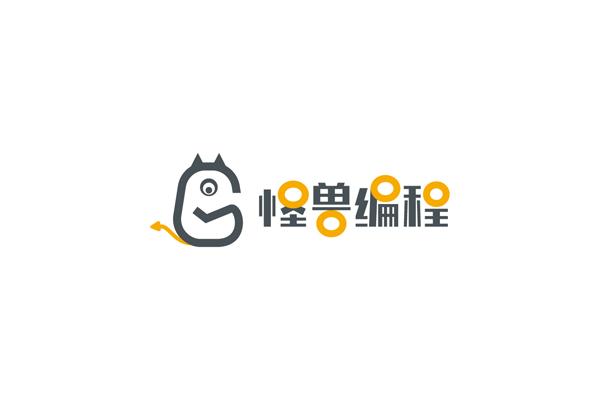 怪兽编程品牌标志设计,LOGO设计_全力设计