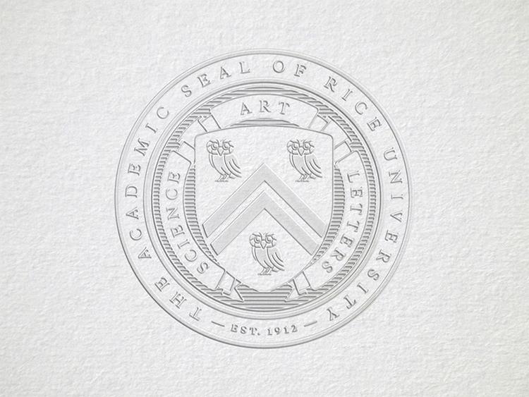 美国莱斯,大学,LOGO,设计