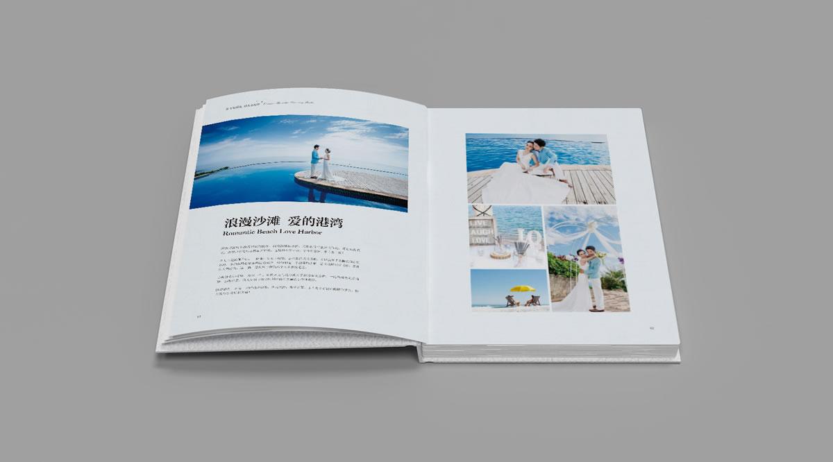 小梅沙品牌画册策划设计