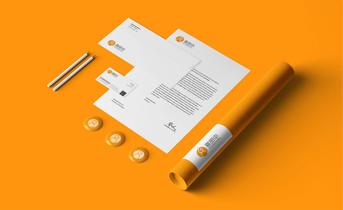 喜郎中品牌标志设计,品牌LOGO设计,品牌商标设计_全力设计