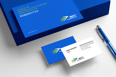 氢时代品牌形象塑造,氢时代标志设计,氢时代网站版式风格设计