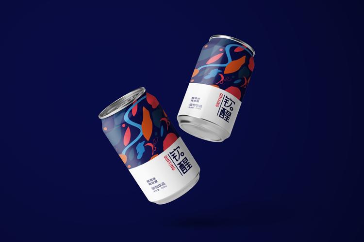 钦醒植物饮品品牌设计,钦醒植物饮品包装设计,钦醒植物饮品标志设计,钦醒植物饮品商标设计,钦醒植物饮品LOGO设计